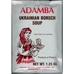 Adamba Polish Style Ukrainian Borsch Soup is easy to make.  Instructions in Polish and English