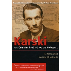 Karski is a story of incredible valor, a story of personal courage and uncommon determination to bring to Allied leaders the awful truth about the mass murder of the Jews of Europe. It is a story of a man who understood the poisonous effects of bigotry an