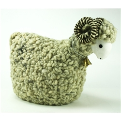 Polish Woolen Ram - Cream/Grey - Medium