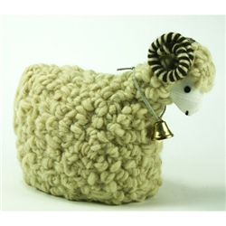 Polish Woolen Ram - Cream - Small