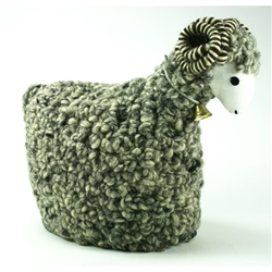 Polish Woolen Ram - Grey/Cream - Small