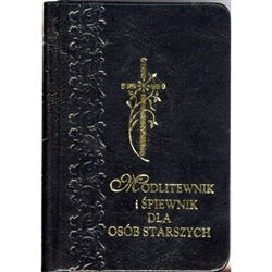 This is a vest-pocket sized prayerbook and songbook (only words - no notes - the publisher assumes old folks are familiar enough with the tunes that they don't need the notes). Text size is larger than normal for easy reading and the entire book is in Pol