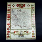1683 Historical Map Of Poland
