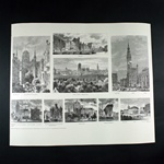 1879 - Historic Panoramas Of The City Of Gdansk