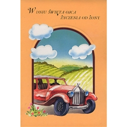 Polish Father's Day Greeting Card - Husband