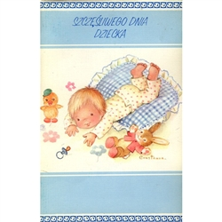 Polish Children's Day Greeting Card