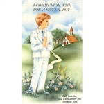 First Communion Card - Special Boy
