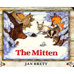 The Mitten - Board Book