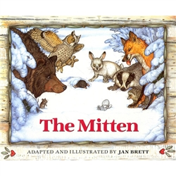 The Mitten - Hardcover A Ukrainian boy named Nicki wants his grandmother Baba to knit snow-white mittens for him. She warns her grandson that a white mitten will be hard to find if he loses it in the snow, but of course he promptly does just that!