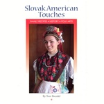 This 192 page book has history, recipes, and folk arts. A goodly number of Slovak folk dancers in kroj authentic to the Slovak Republic are shown in full color in the 24 page color section of the 6x9 book. The recipies are those of the Brendel family.