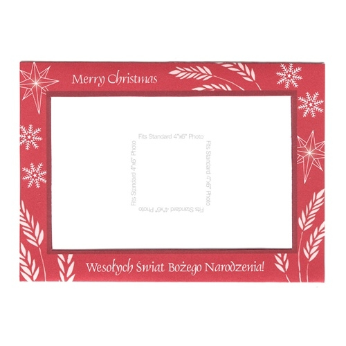 Photo Picture Frame Christmas Greeting