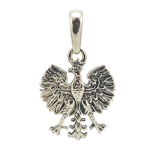 Polish art center polish eagle silver pendant 1116 18cm earn mozeypictures Images