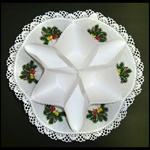 Traditional Polish Biscuit Holder - White - Stroik Na Pieczywo