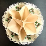 Traditional Polish Biscuit Holder - Beige - Stroik Na Pieczywo