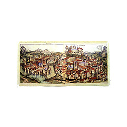 Panoramic Scene of Medieval Krakow - Small
