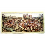 Panoramic Scene of Medieval Krakow - Large