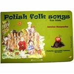 A collection of 10 Polish children's songs with words and notes, colorful art illustration and a CD with the songs sung by a small choral group.  There are several verses to each song, with a total of 40 song tracks on the CD.