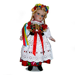Krakow Girl Doll - Porcelain