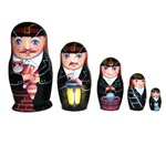Chimney Sweep Nesting Doll Set - 5""