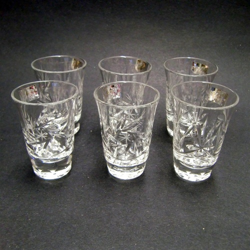 Alternative Views & Polish Art Center - Crystal Shot Glass - Set of 6