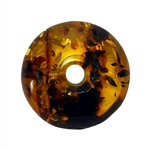 3cm Diameter Circle Of Amber