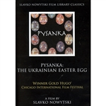"DVD ""Pysanka"": Internationally acclaimed 14 minute film by Slavko Nowytski - featuring Luba Perchyshyn. Artistically shows the decorating process of Ukrainian Easter Eggs while explaining historic and spiritual background."