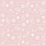 Polish Scrapbook Paper -Christmas Wesolych Swiat Collage - Single Paper