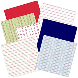 Polish Scrapbook Paper - Christmas Value Pack