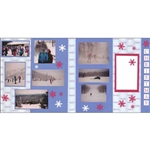 Polish Scrapbook Paper - Christmas 2 Page Kit #2