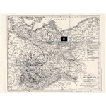 Northeast Germany Map: 1843