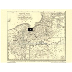 The Prussian Provinces Map: East Prussia and Posen