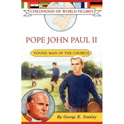 Pope John Paul II was born Karol Wojtyla on May 18, 1920, in Poland. As a child Karol excelled in school -- especially in religion and literature. He was a star soccer player and also hiked and kayaked. But most of all Karol loved poetry and theater.