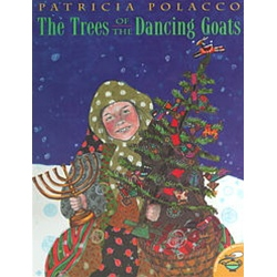 Trisha loves the eight days of Hanukkah, when her mother stays home from work, her Babushka makes delicious potato latkes, and her Grampa carves wonderful animals out of wood as gifts for Trisha and her brother. In the middle of her family's preparation f