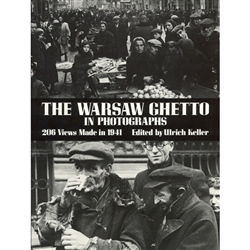 "The Warsaw Ghetto in Photographs. The outbreak of World War II in 1939 created the abnormal conditions which enabled the Nazi leaders to translate their monstrous ideology of the ""final solution"" into gruesome reality."