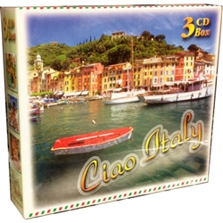 3 CD box set of Italian pop music which is highly popular throughout Europe and Poland.