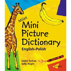 Now in a playful board book format, Milet's popular picture dictionary, in English and Polish. An original artistic mini picture dictionary. Vibrant pictures encourage the child's creativity while they learn to identify objects and words. Age Range: 0+