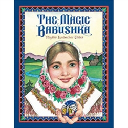 Nadia longs to create beautifully decorated Easter eggs, called pysanky, but the intricate patterns are too difficult for her weak eyes. Nadia despairs until one day she rescues Baba Babochka, the ancient butterfly woman.  by Phyllis Limbacher Tildes