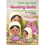 Paint Your Own Nesting Dolls CD-ROM by Janet Dixon