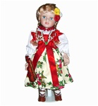 Goral Girl Doll - Porcelain