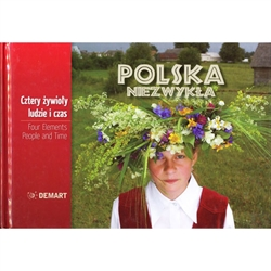This beautiful album is wonderful way to experience the beauty of the people and the country.  Take a visual trip across some unique places in Poland.  The extraordinary photographs show a country shaped by people and time through the prism of the four el