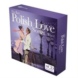 4CD's with over 4 hours of Polish Love Songs performed by a variety of contemporary Polish singers and bands.