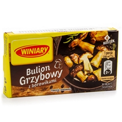 The soups, gravies, meat and sauerkraut dishes made with these bouillon cubes taste just like those using dried Polish mushrooms that you have to rehydrate (soak) and cook. They can also be used to enhance the flavor of those rather bland-tasting fresh mu