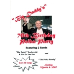 Big Daddy's 70th Birthday Polka Party DVD