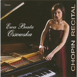 Fryderyk Chopin recital performed by Ewa Beata Ossowska.  Recorded in January 2000 in the Concert Hall of the