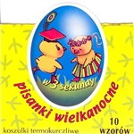 Polish Heritage Design Egg Sleeves - Set of 10 Create instant Polish designed Pisanka using these brightly-colored sleeves representing different Polish motifs. Each package contains 10 color sleeves with Easter motifs.