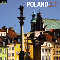 This beautiful 16 month calendar features 13 city, village and country scenes in full color, suitable for framing.