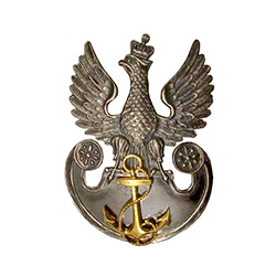 Replica of the Polish Naval Insignia. Made in the workshop of Warsaw's finest engraver and medal maker.
