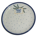 "We special ordered these beautiful bread and butter plates for your Polish Christmas holiday table.  Each plate features the traditional Polish holiday greeting ""Wesolych Swiat""(Happy Holidays).  Perfect for setting your Christmas Eve Wigilia dinner.  Han"