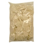 Sealed poly bag of 250 church (altar) wafers (communion hosts).  Unblessed-unconsecrated.  These wafers are made only from the finest natural wheat in Poland. Pure spring water from artesian wells is the only ingredient added.