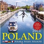 Panoramic Poland 2011-Scenes from around Poland are described in English at the bottom of each photo.  Includes all Polish holidays and names days in Polish. European layout (Monday is the first day of the week).